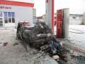 В Шостке на АЗС взорвалось авто, есть пострадавшие