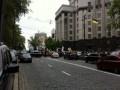 Под Кабмином организовали два митинга и перекрыли движение