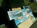 На вертодроме в Запорожье продавали сувениры с флагом Российской Федерации