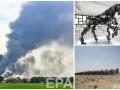 День в фото: взрыв на заводе в Германии, металлическая лошадь в Китае и велогонки в Катаре