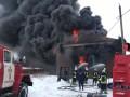 В Славянске произошел пожар на складе ГСМ, были взрывы