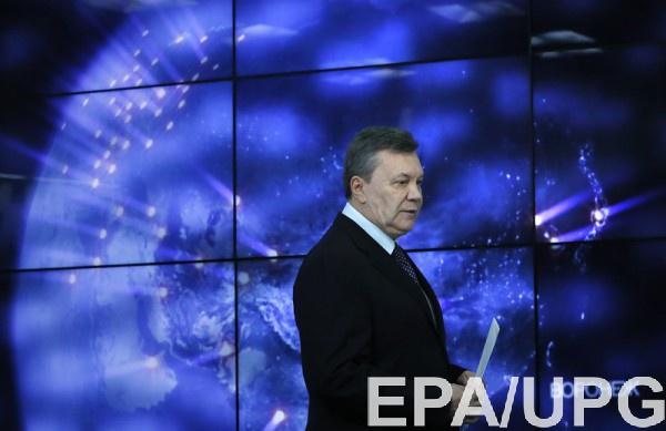 Янукович считает, что Порошенко нужно сесть за стол переговоров с жителями Донбасса
