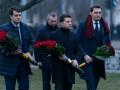 Зеленский, Разумков и Гончарук почтили память ликвидаторов аварии на ЧАЭС