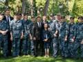 Владимир Зеленский встретился с освобожденными моряками и их родными