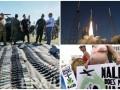 День в фото: Демонстрация военной техники в Десне, старт миссии NASA и акция протеста в Майами-Бич