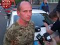 Киевлянин ногами повредил семь автомобилей