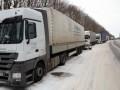 Из снежных заносов в Днепропетровской области вытащили 60 фур