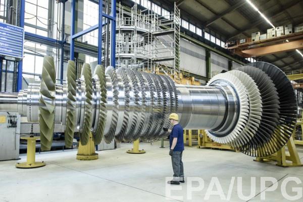 Турбины Siemens были привезены в Крым для двух строящихся электростанций