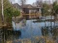 На Волыни бобры затопили село, повредив дамбу