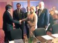 Тимошенко в Женеве встретилась с лидером каталонских сепаратистов