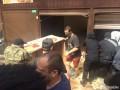 В Киеве устроили погром на рынке, где побили пенсионера