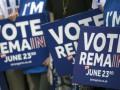 Большинство британцев выступили против выхода из ЕС - опрос