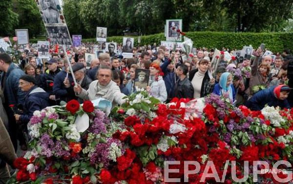 Масштабные акции 9 мая прошли в Киеве, Одессе, Днепре и Запорожье