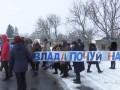 Под Хмельницким учителя и родители перекрыли дорогу
