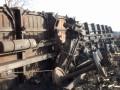 В Макеевке сошел с рельсов поезд с углем