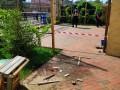 В Одессе во двор общественного деятеля бросили гранату
