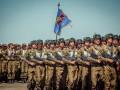 Как бойцы Нацгвардии готовятся к параду на День Независимости