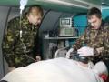 В Днепропетровск доставили свыше 30 раненых военнослужащих