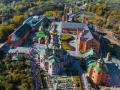 Кровоточащую икону Христа Спасителя привезли в Голосеевский монастырь