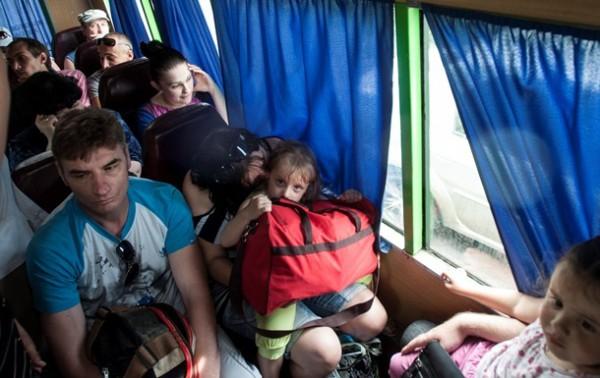 По данным ООН, количество внутренних переселенцев в Украине превысило 50 тысяч человек