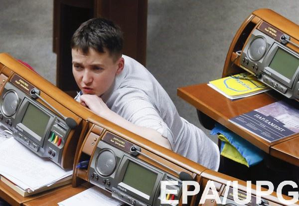 Депутатов Савченко иДенисенко рассадили вРаде