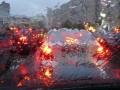 В Киеве длина пробки достигла 15 километров