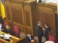 Зеленский и Порошенко поговорили в президиуме Рады