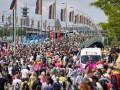 На гей-прайд в Кельне вышли более миллиона человек