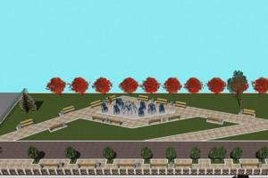 В КГГА показали, как будет выглядеть сквер возле метро Политехнический институт