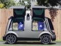 В США заработали беспилотные автомобили для доставки еды из супермаркета