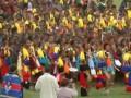 В Свазиленде обнаженные девственницы соревнуются за право стать королевой