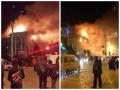 В столице Дагестана горит управление ФСБ