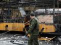 Перехват переговоров: Автостанцию в центре Донецка расстреляли россияне