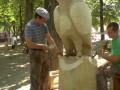 В Глухове прошел фестиваль резьбы по дереву