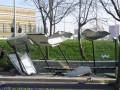 В Стамбуле автобус врезался в остановку: три жертвы