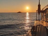 В Черном море прошли военные учения Украины, США и Румынии