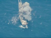 На учениях в Тихом океане потопили десантный корабль