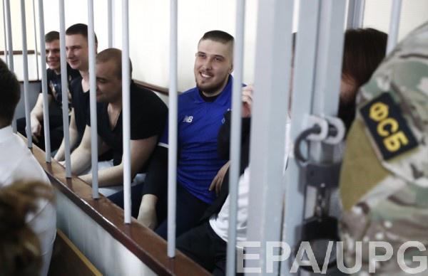 Пленных моряков оставили под арестом до конца октября