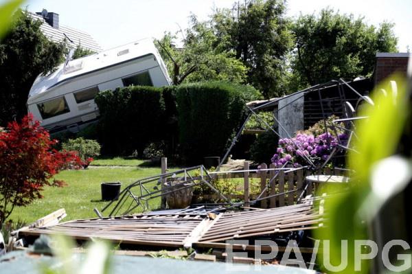 Мощный торнадо прошел по западной Германии