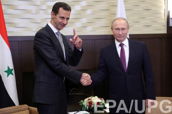 Асад доволен советским оружием и помощью России