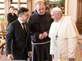 Папа Франциск занимается освобождением Маркива