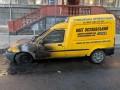 В Ровно подожгли агитационный автомобиль