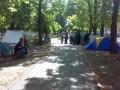 Протестующие в Луганске чернобыльцы выдвинули свои требования