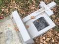 В приграничном районе Польши повредили украинские захоронения