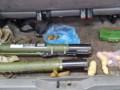 В Мариуполе в машине нашли противотанковые гранатометы и пластид
