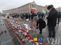 Киевляне почтили память погибших в Мариуполе
