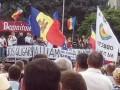 Протесты в Молдове: палаточный городок в Кишиневе разрастается