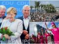 День в фото: Минута молчания в Ницце, протест против Трампа и цветы для Меркель