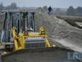 В Голосеевском парке незаконно добывают песок