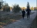 Тимошенко пробежала 12-километровый марафон